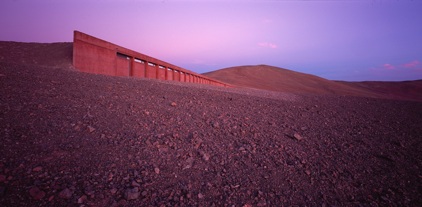 Hotel Eso, Atacama Desert, Chile. Architect: Auer + Weber. Photo by Erieta Attali.