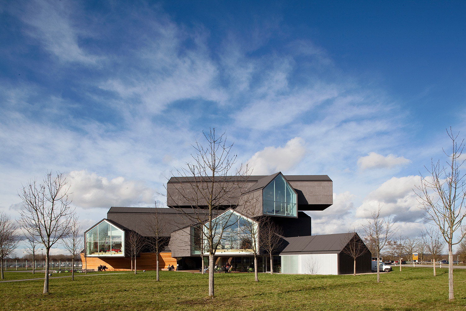 Vitra Haus, Weil am Rhein, Germany. Architect: Herzog & de Meuron. Photo by Fran Parente.