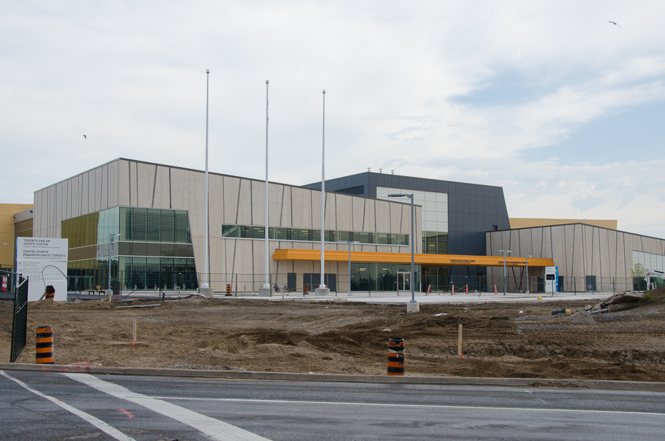 The Toronto Pan Am Sports Centre. Photo by Stephanie Calvet.