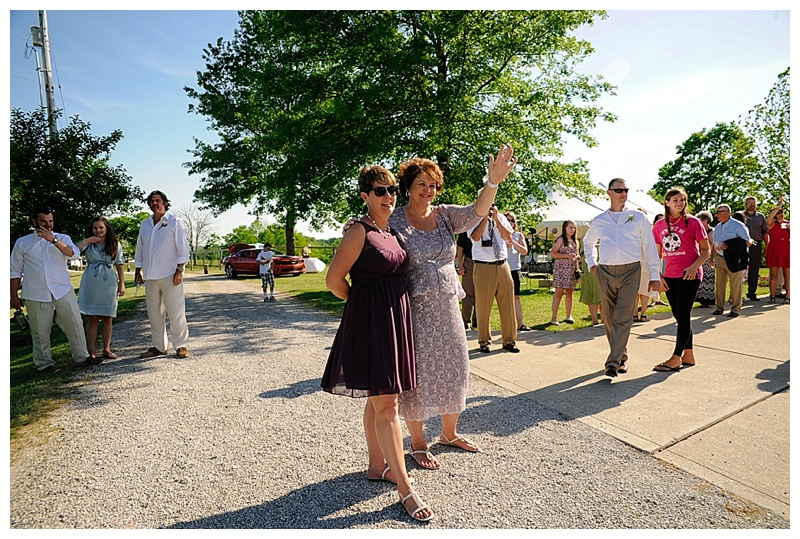 Mommas saying goodbye to the newlyweds. Photo from Michael + Allie's Wedding // May 2015