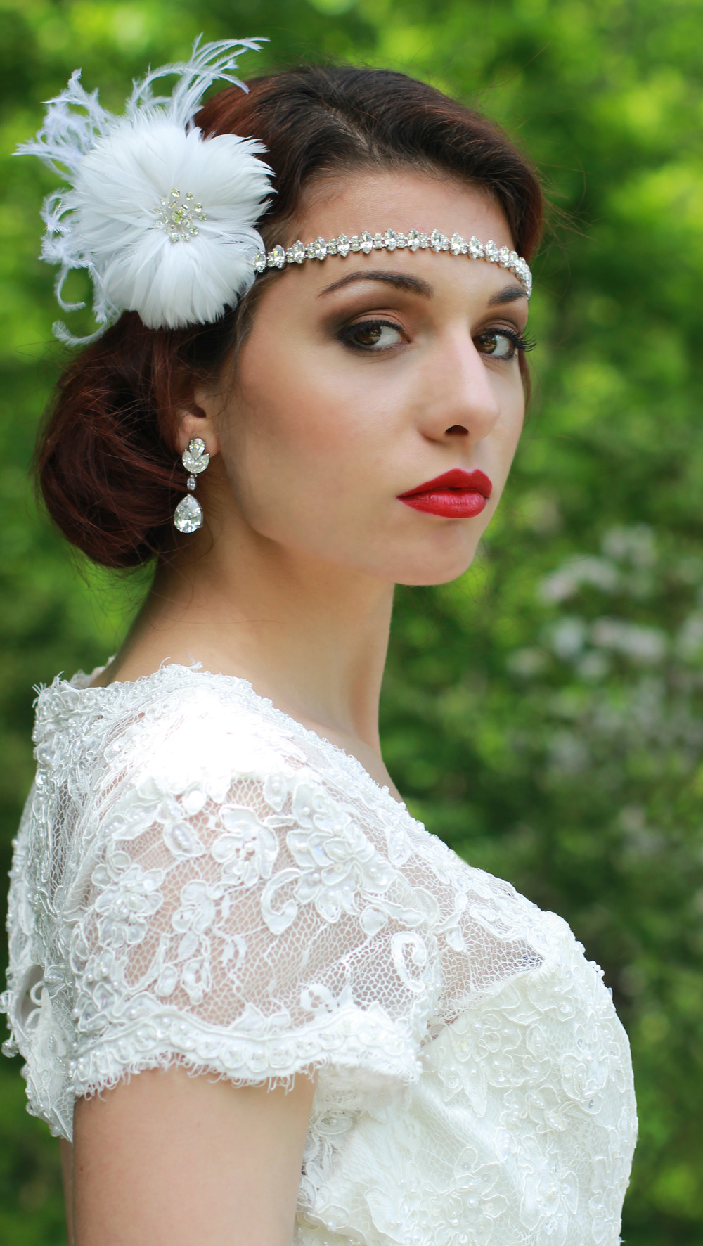 Vintage Glamour Wedding | Bride - Jess Rudolph Photography