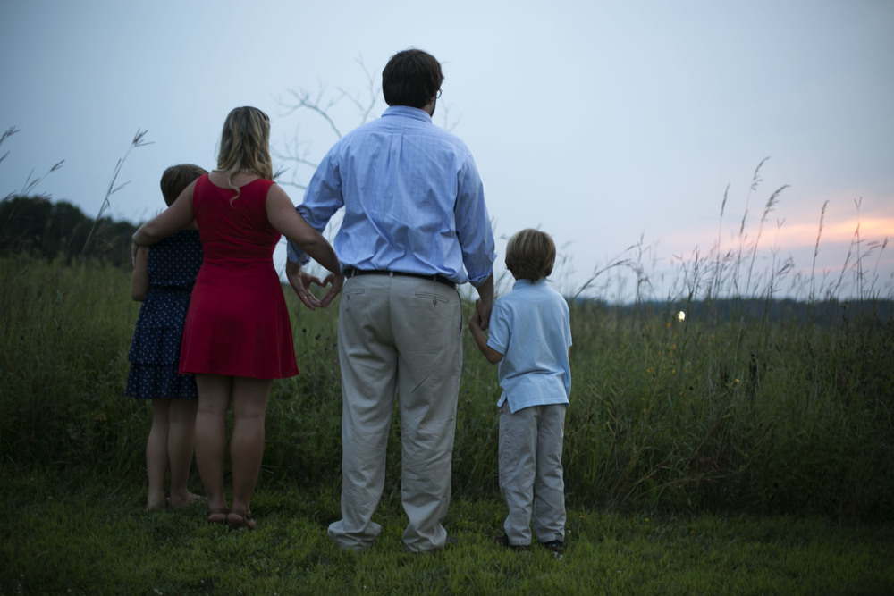 Family Portraits | Sunset | Harford County, MD - Jess Rudolph Photography: www.jessrudolph.com