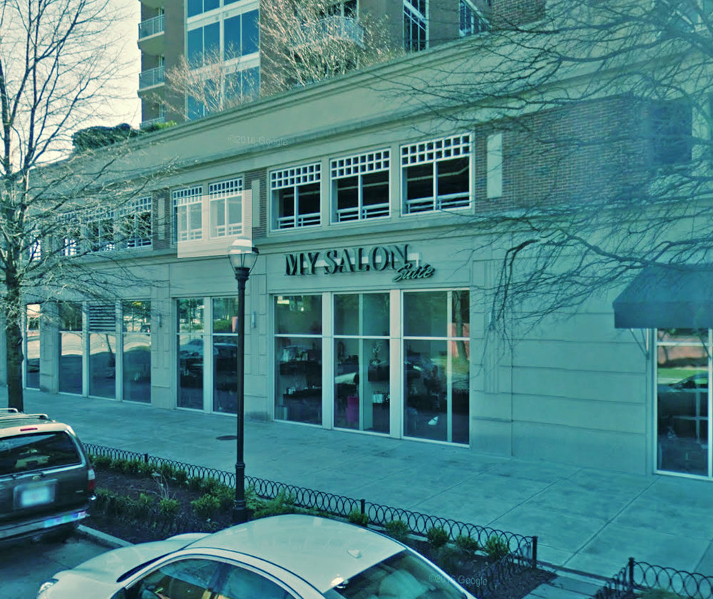 Outside View of Nina Ross Hair Therapy Atlanta