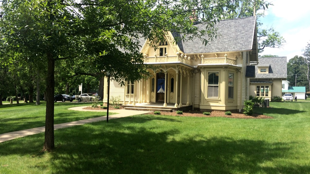Finn House - Gambier, OH. It houses the Kenyon Review. June, 2015. Photo by me.