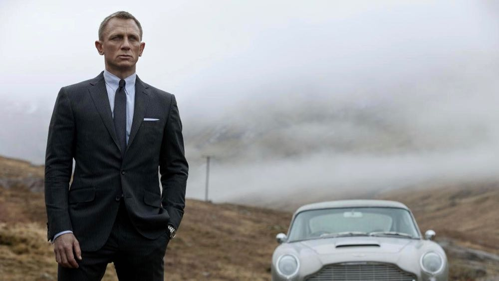 A scene from the James Bond movie, Skyfall. MGM Pictures.