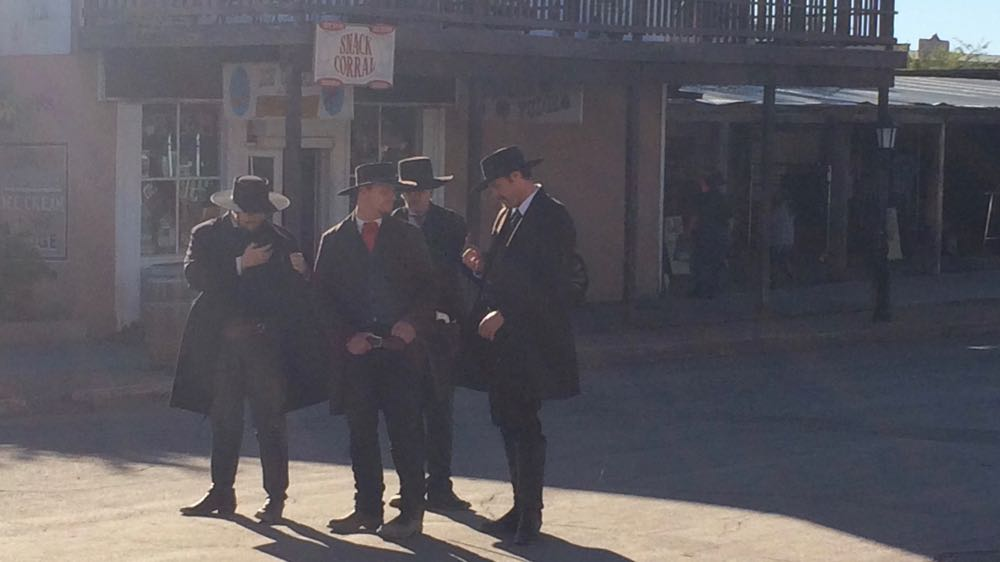 The next book I'm writing is going to be a Western. The Earp Brothers and Doc Holiday at Tombstone. November, 2015. Photo by me.