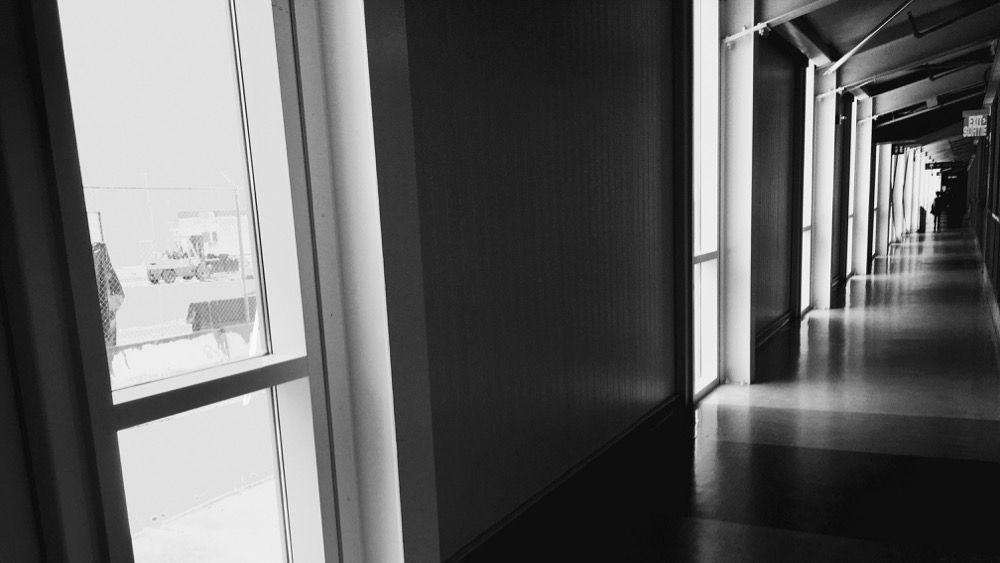 Toronto Airport. April, 2016. Photo by me.