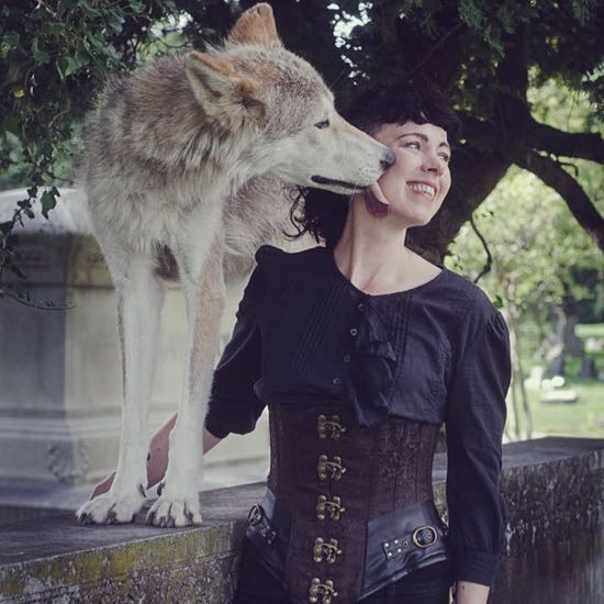 Jordan Kurella and Cana. Photo by Ironwood Wolves - July 2016