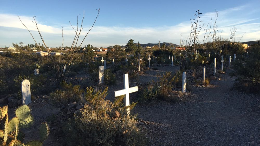 Boot Hill Cemetery, Tombstone, AZ. November, 2015. Photo by William Schmidt