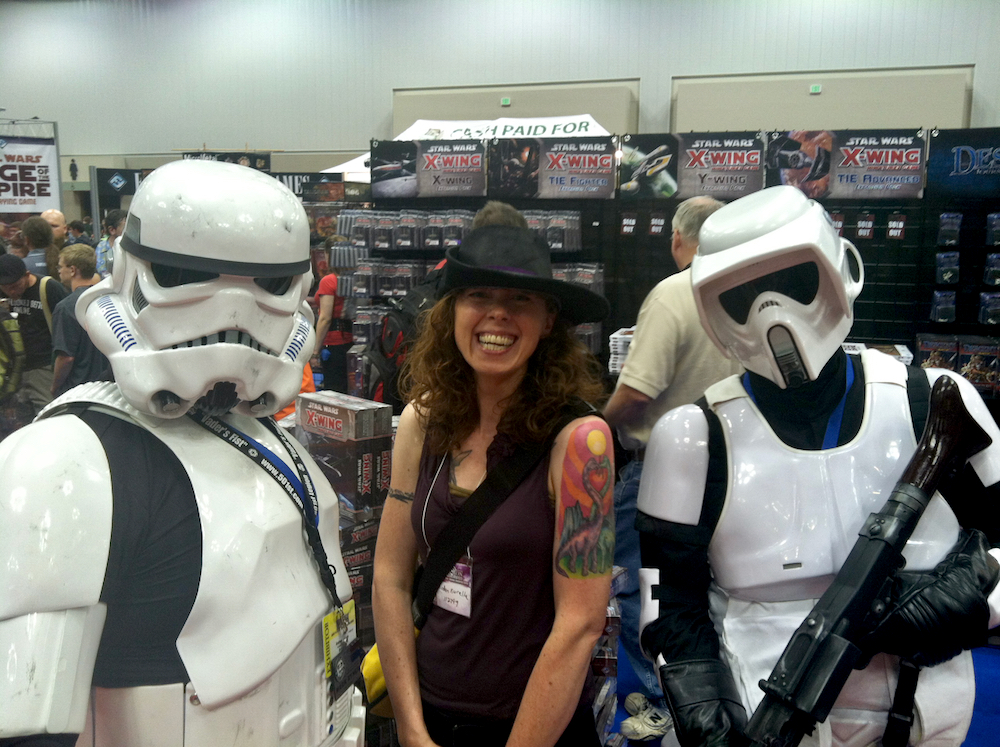 Me and some 501st Members at GenCon, 2013. Photo by James Kurella.