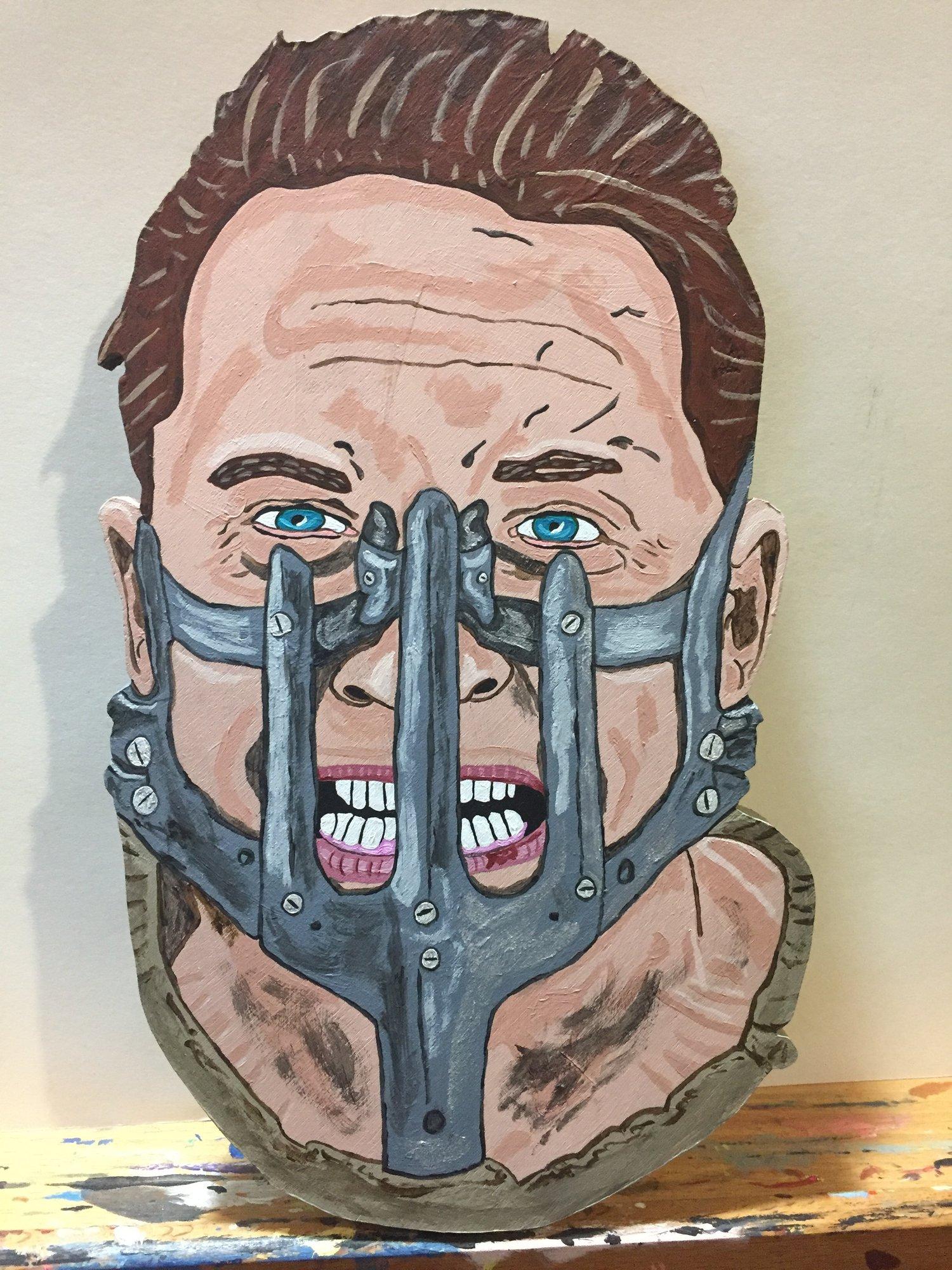Mad Max/Tom Hardy portrait