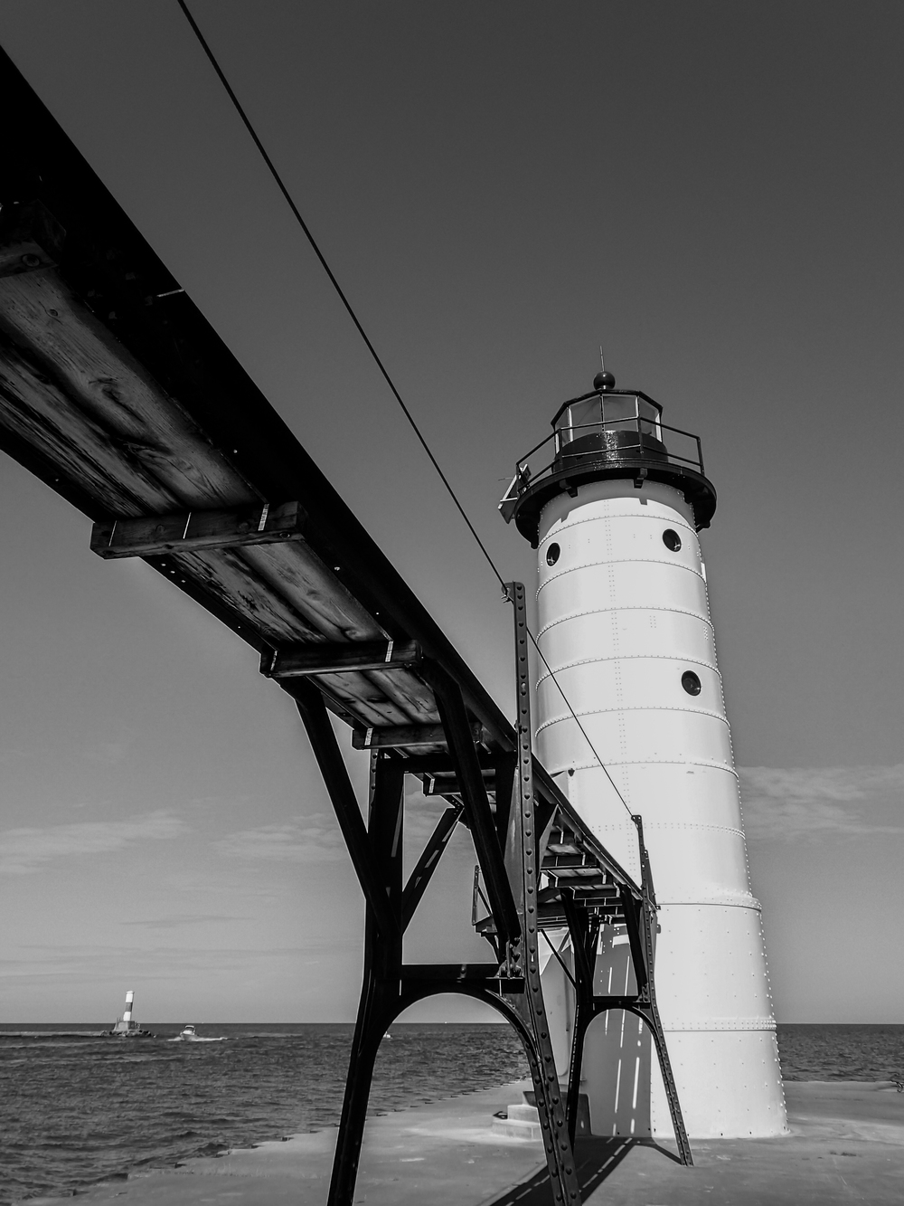 North Pierhead Lighthouse, Taken with Olympus E-M1 and M. Zuiko 12-40mm 2.8