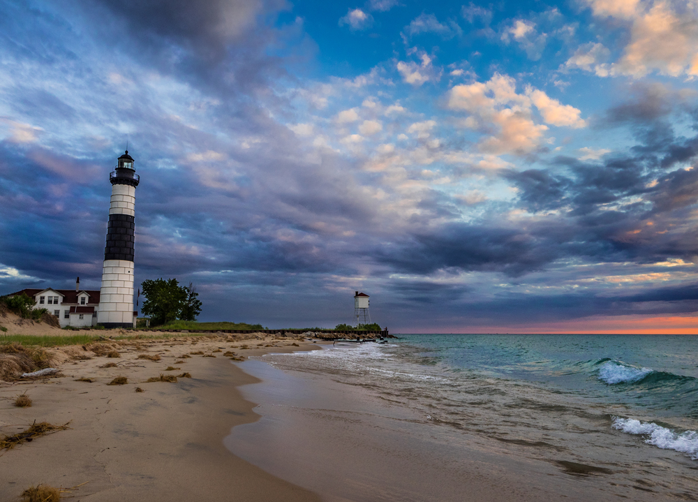 Big Sable Point Lighthouse, Taken with Olympus TG-4