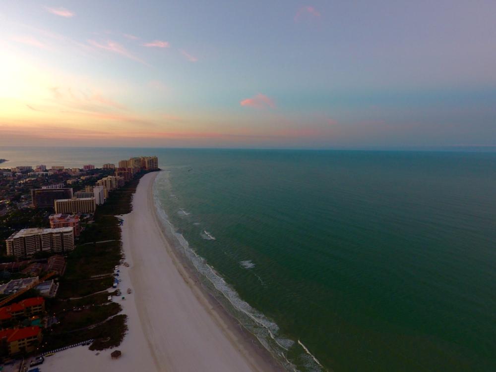 Marco Island Sunrise taken with Phantom4