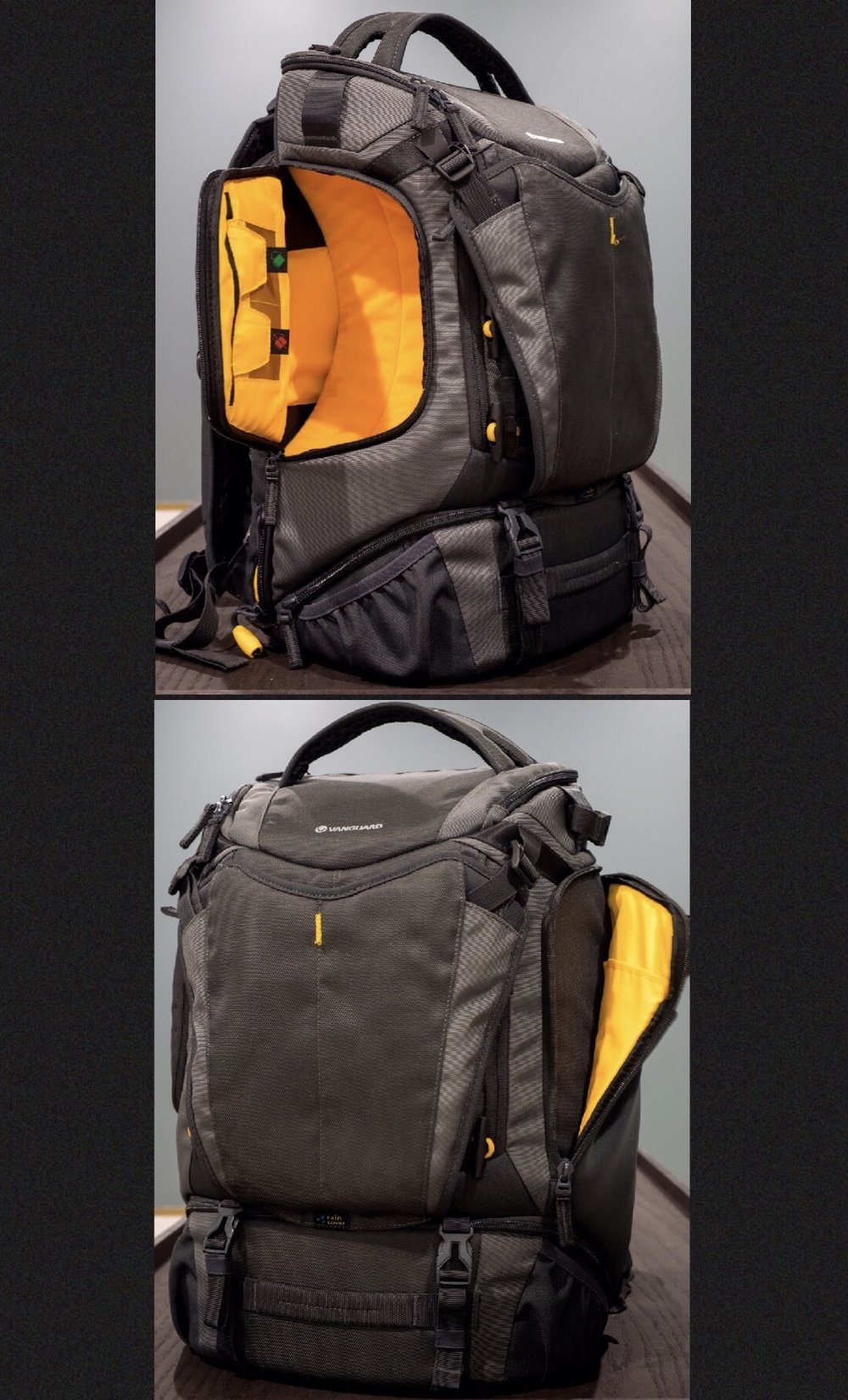 Vanguard Alta Sky 51D side pockets
