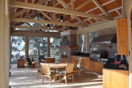 Enjoyable Outdoor Kitchen Pictures Design Ideas Largest Home Design Picture Inspirations Pitcheantrous