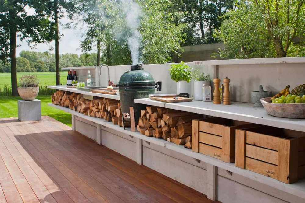 outdoor kitchens and living — ciao bella! design & interiors