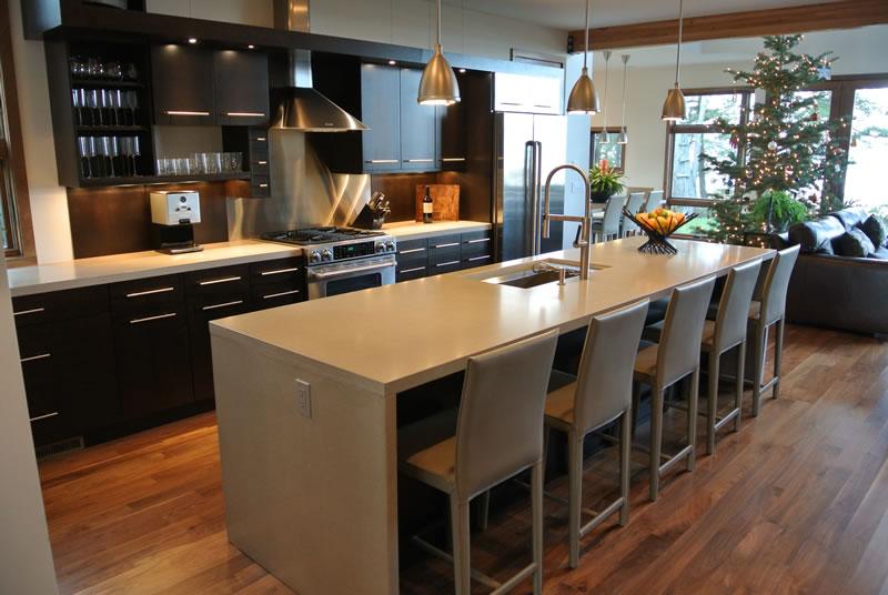 concrete kitchen design petoskey
