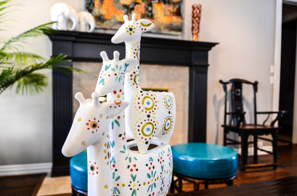 Whimsical bohemian global home decor