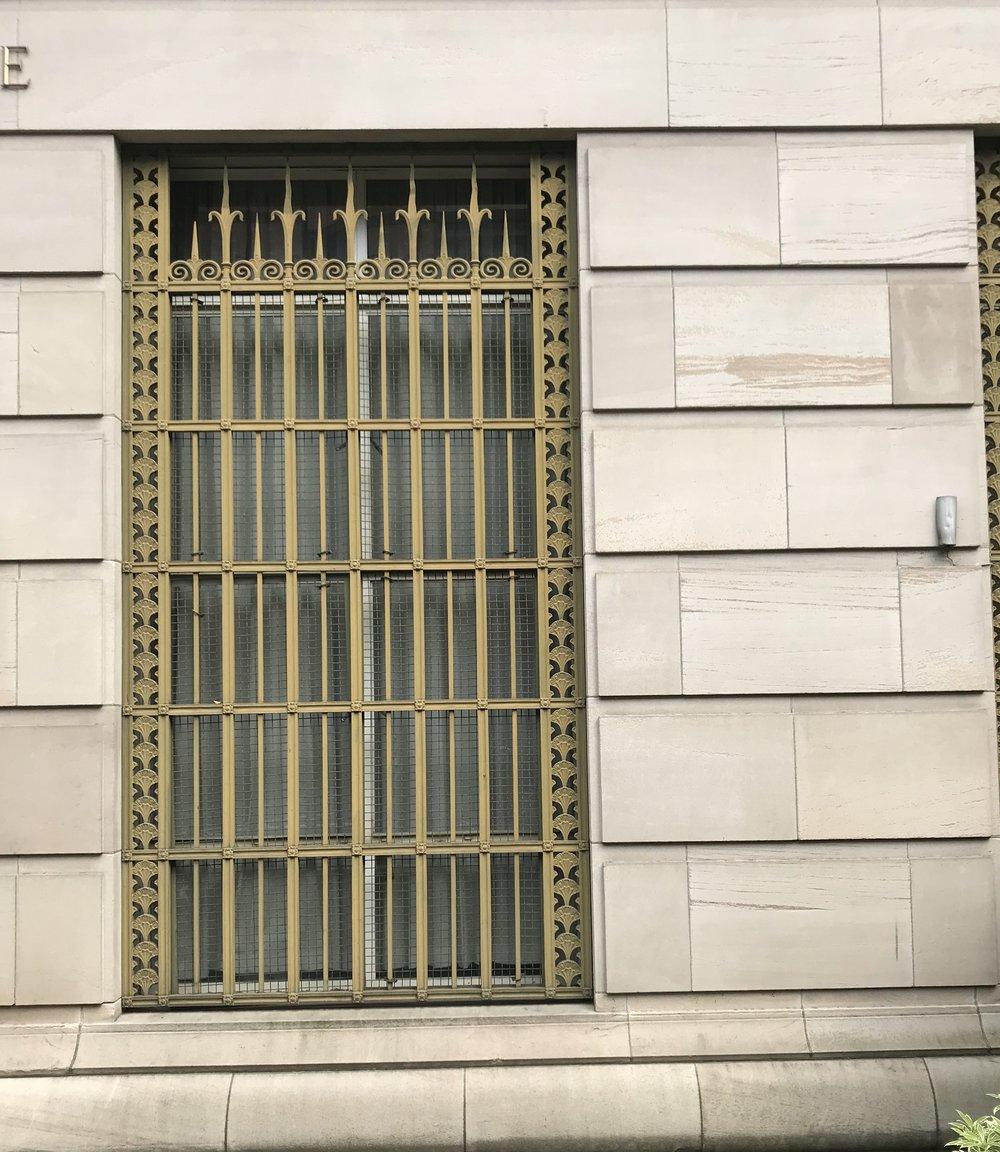 Decorative window bars