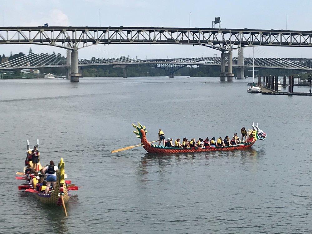 Dragon Boats Portland Oregon