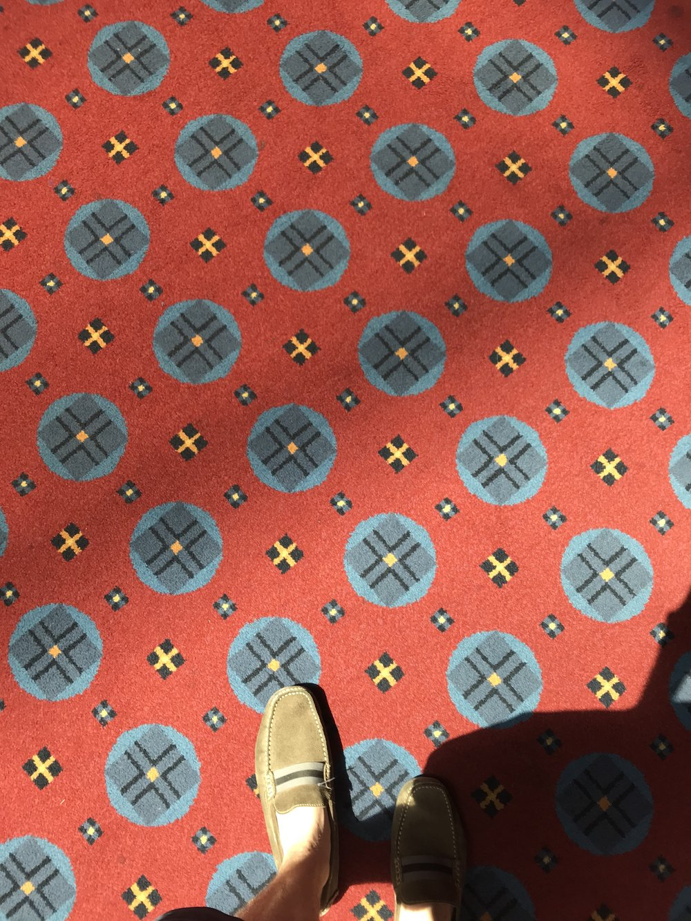 Vintage style carpet
