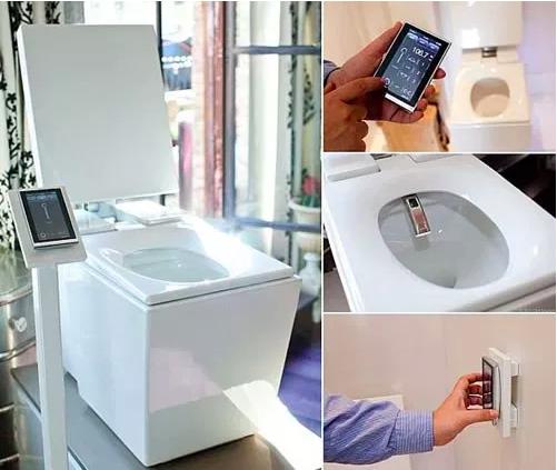 Super smart toilet