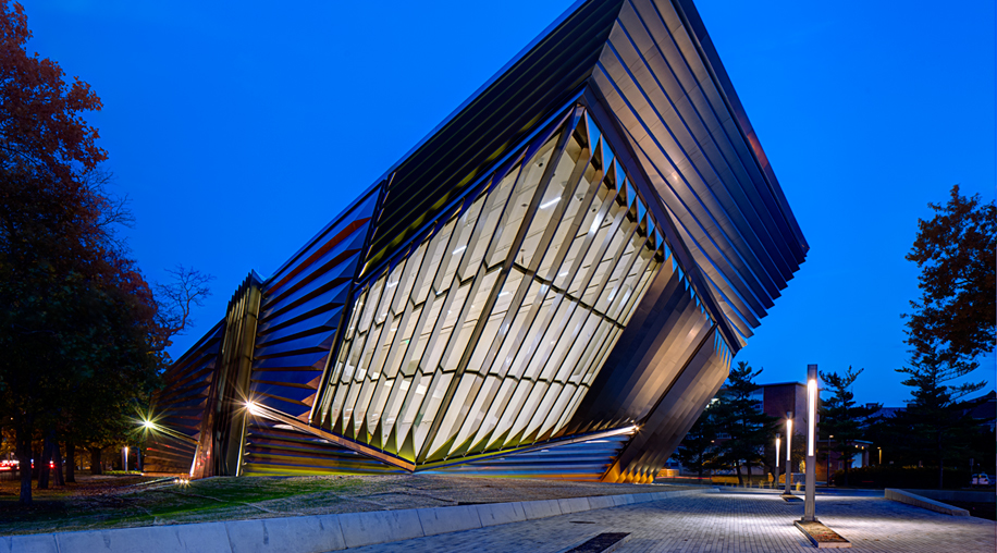 Broad Art Museum in East Lansing, Michigan