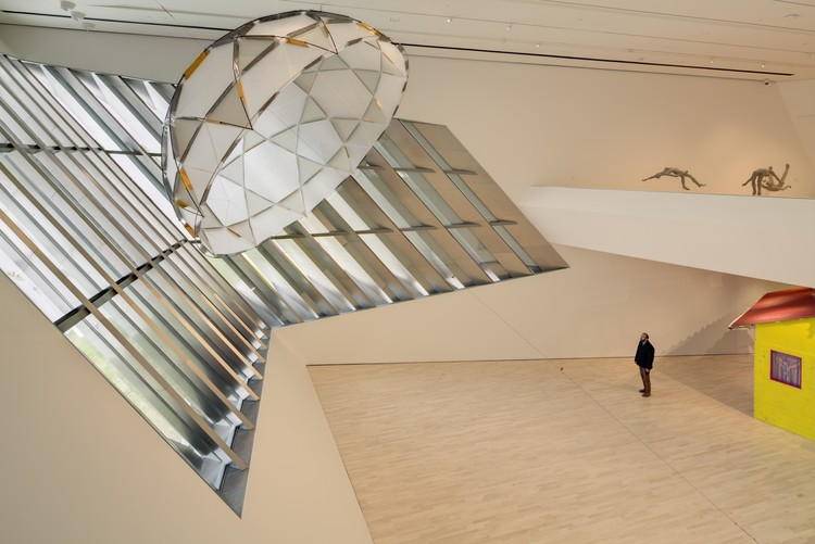 Broad Art Museum in East Lansing, Michigan interior