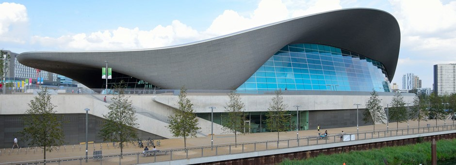London Aquatics Center, 2012 olympics