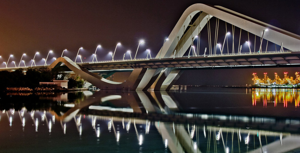 Sheikh Zayed Bridge, Abu-Dhabi, UAE