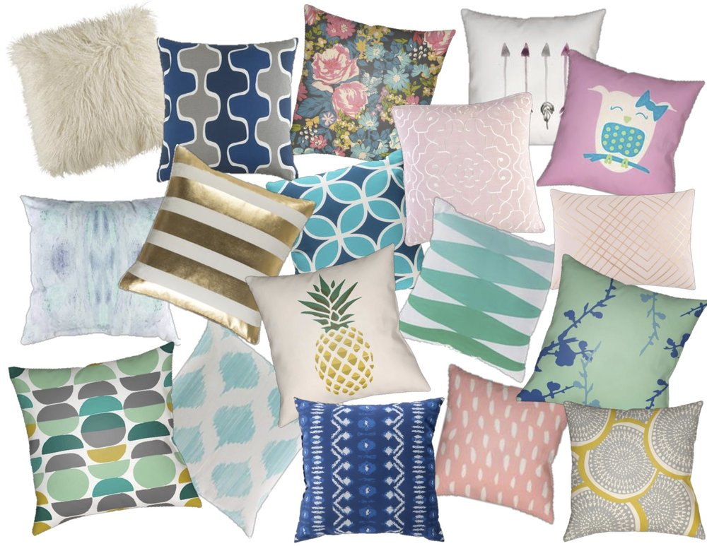 Stylish pillows Under $80