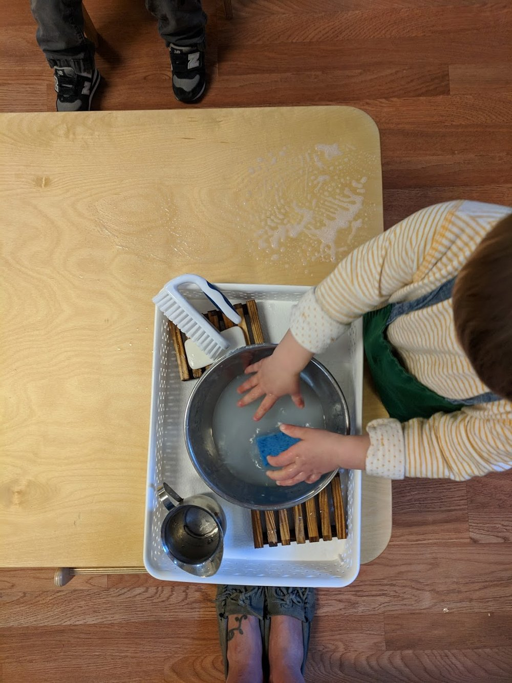 Table Scrubbing 2.5 years
