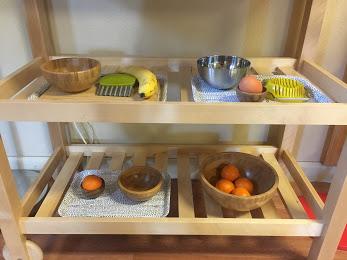 Food Preparation Shelf The Montessori School of Evergreen 2018