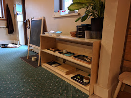 Art Shelf The Montessori School of Evergreen 2018