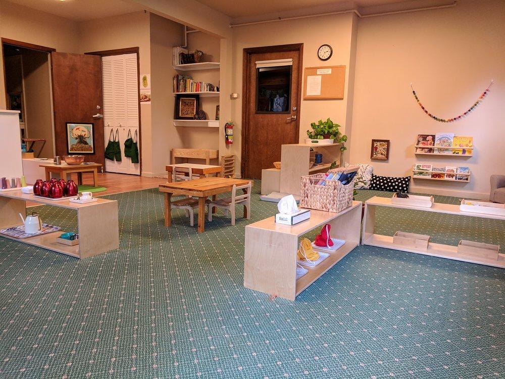 The Toddler Community The Montessori School of Evergreen 2018