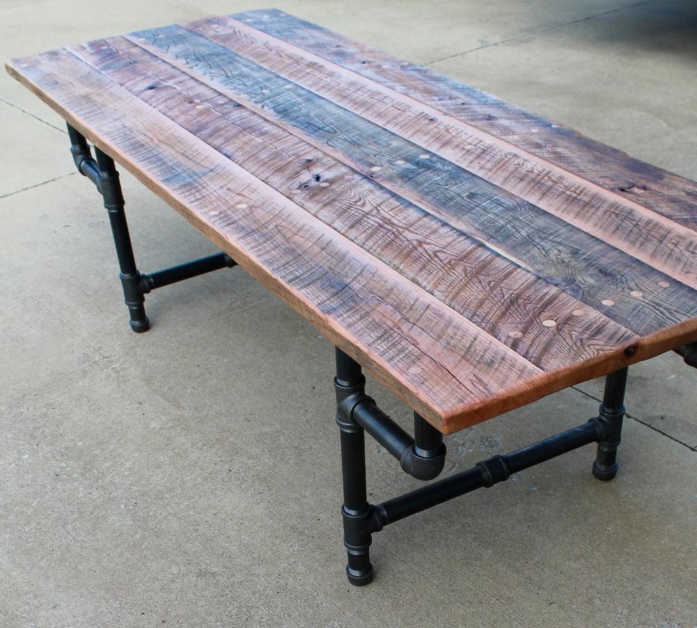 Ordinaire Industrial Farmhouse Table