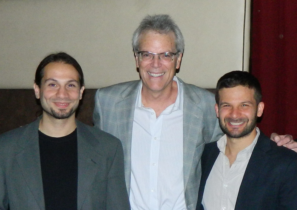 Tal Peretz (left), Michael Messner (center), Max Greenberg (right)