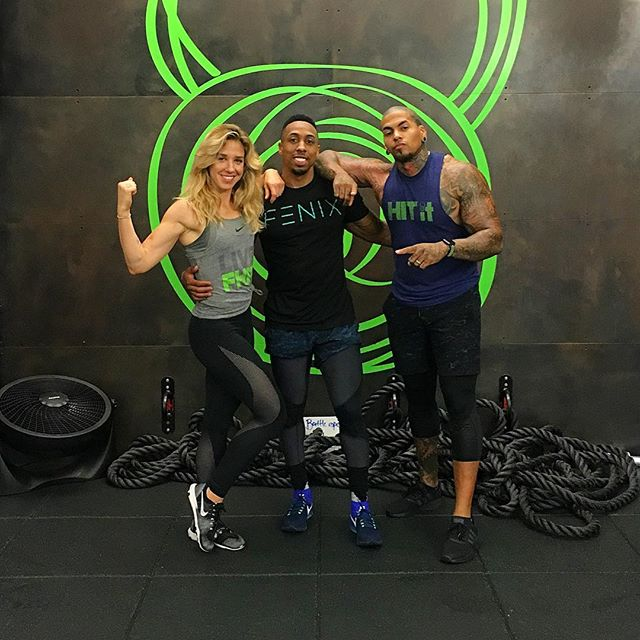 @mubarakmalik about time this happened! @michaelrapaport where you at?!? Really 💚 those Sunday subs with @drossfit_ ! . . . @fhittingroom #liveFHIT #🔥