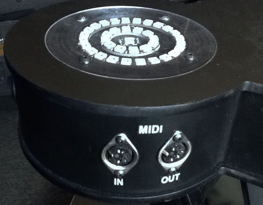 MIDI IN / OUT JACKS