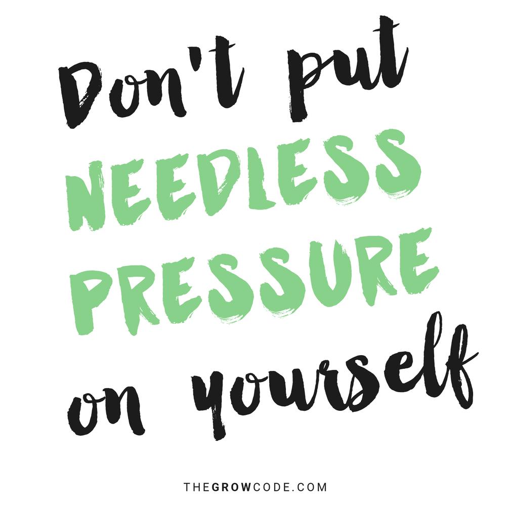 needlesspressure
