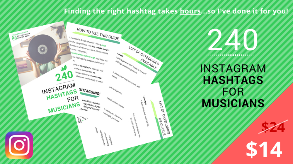 Instagram Hashtags for Musicians