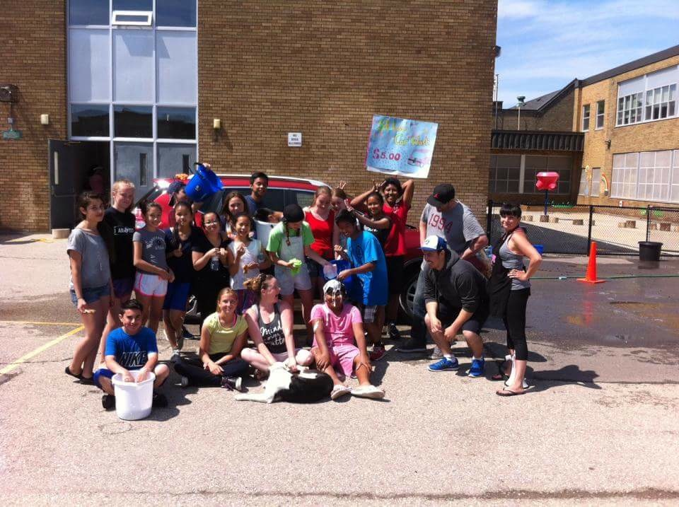 Congratulations to our grade eights as they raise money for their graduation and raise funds for charity.  They are an exceptional group of students!