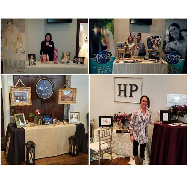 Had the pleasure of being a part of the Mckinney Bridal Show. Along with some other amazingly talented wedding vendors.  @lacourvenue @hautepoppies @azurephotostudio  @glambycassmarie