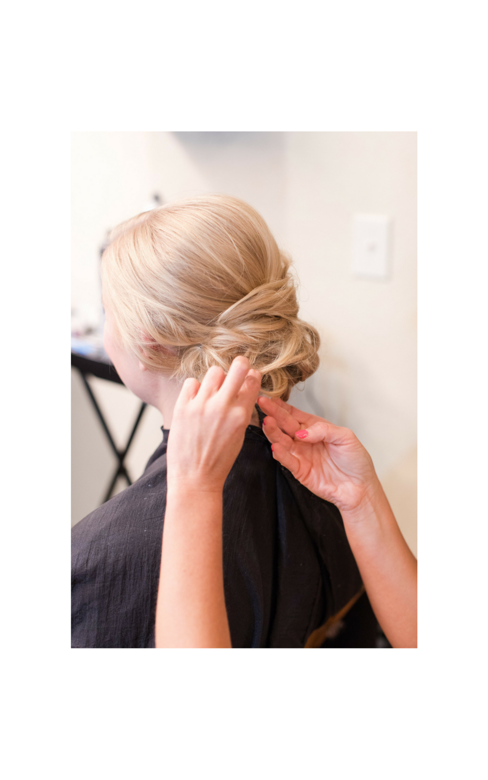 Hairstyling - Offered for all occasions such as, weddings, photoshoots, special events, prom, makeovers, and more.