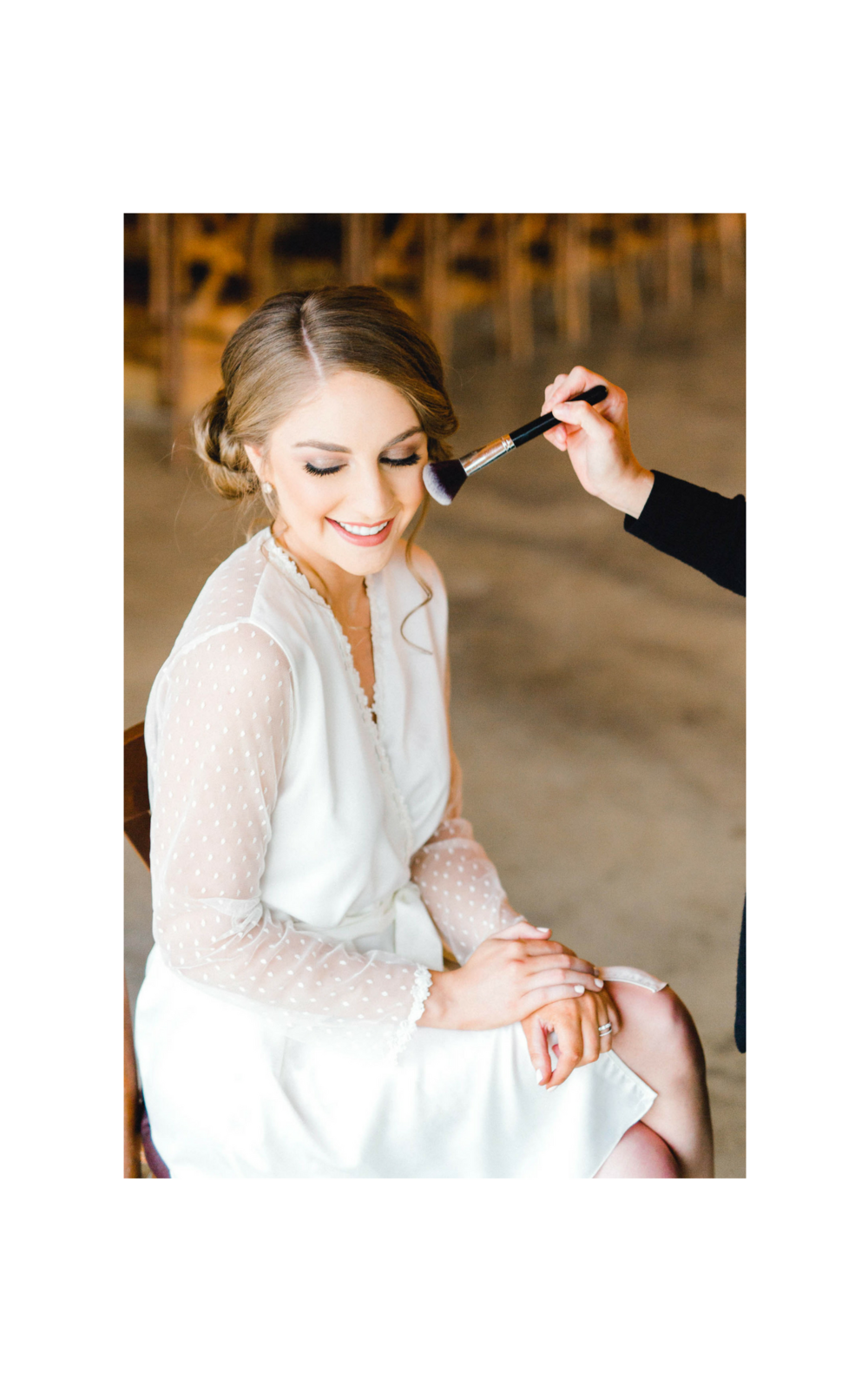 Styling & Touch Ups  - Styling and touch ups on your wedding day, during bridal portraits and boudoir photoshoot.                                                                    Ask for details