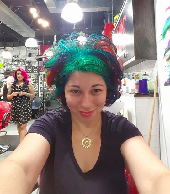 Jen Rainbow Hair