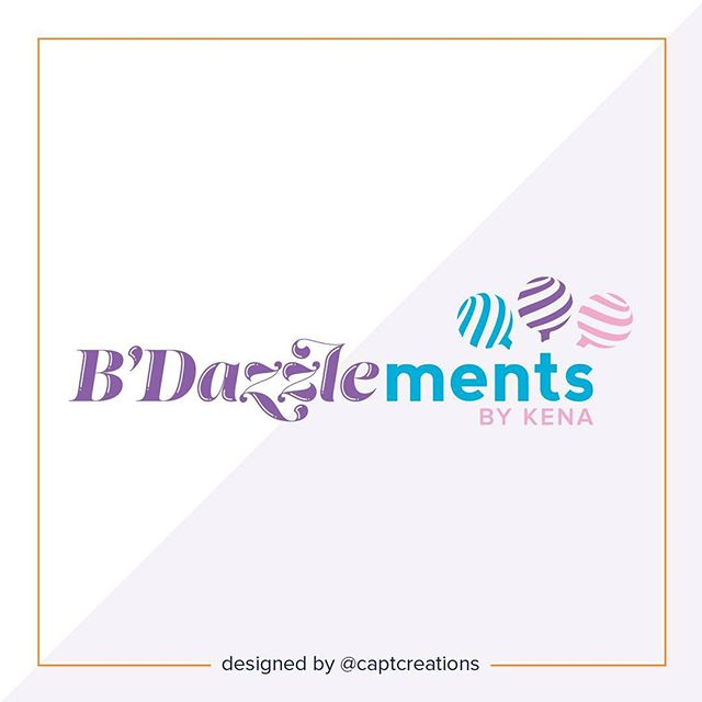 A little Monday morning sweetness. Check out the new branding we designed for B'Dazzlements by Kena, a cake pop and sweet treat business in the DFW area. Let us know what you think below in the comments.