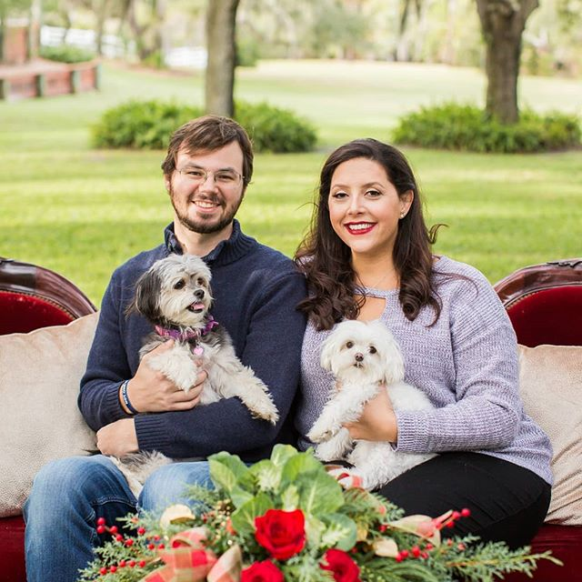 Wishing all our past, current, and future clients a very Merry Christmas!! Photo Cred: @indicawoodruffphotography  #holidayphoto #furbabies #christmasseason #brevardcounty #christmasinflorida