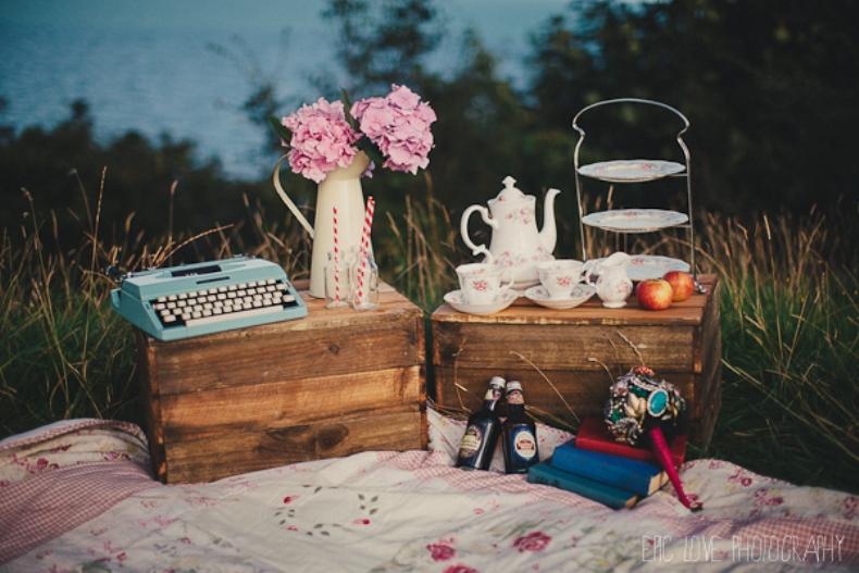 classy vintage picnic